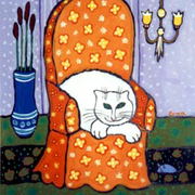 Cat_on_orange_chair_card