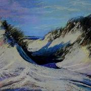 Dunes_pastel_card