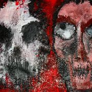 -faces_of_death-_acryl_strukturgel_auf_leinwandtuch_30_x_30_cm_card