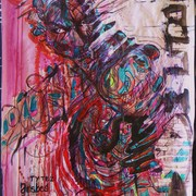 2009_acrylic_on_paper_-ty_tez_jestes_bogiem_card