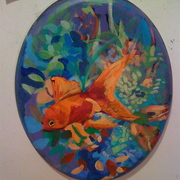 Orange_goldfish_under_the_sea_card