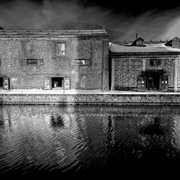 Otaru_rhapsody_in_beer_minor_bw_alien_infrared_version_card