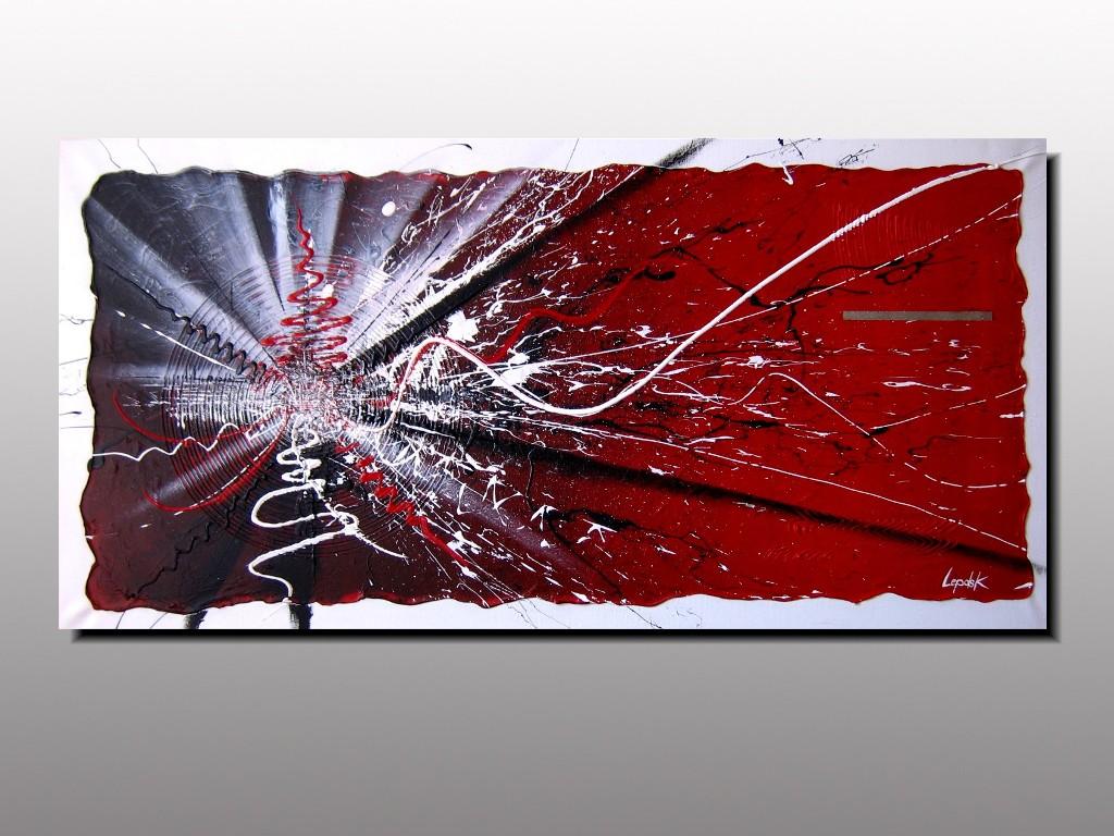 Seisme de lepolsk art contemporain et action painting for Art contemporain abstrait