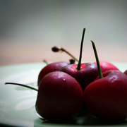 A_group_of_cherries_card