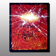 Electricity__lepolsk_matuszewski__artiste_peintre_plasticien_-_action_painting_-_art_abstrait_2010_card