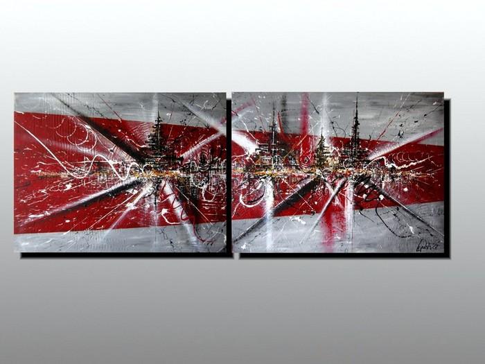 peindre un escalier en gris et noir ou gris et decofr - Peinture Gris Rouge