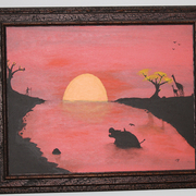 African_sunset_card