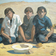 Mexican_boys__oil_sketch_75_card