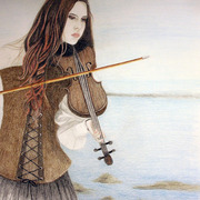 Womanwithviolin_card