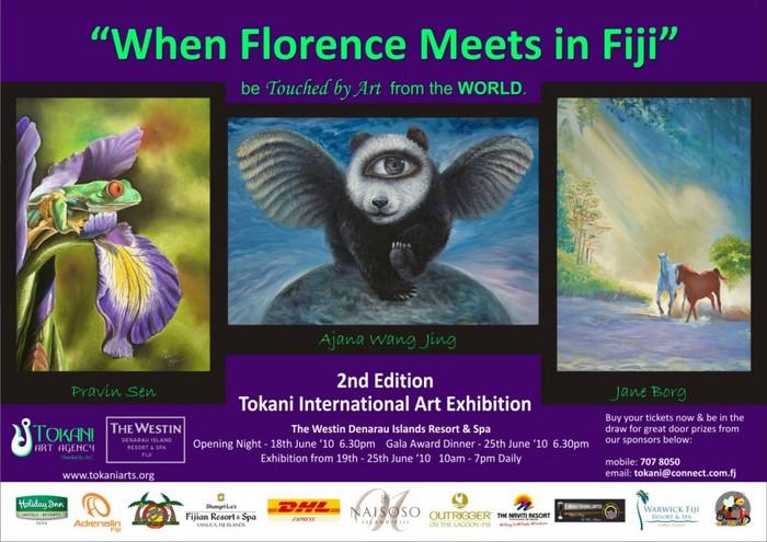 Quando Firenze si incontra in Fiji - Esibizione internazionale d'arte