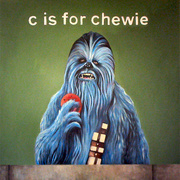 James_hance_-_c_is_for_chewie_card