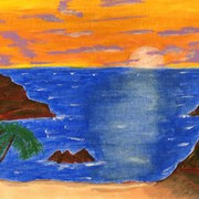 Sunsetocean_card