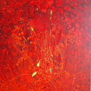 Bourne_wood_in_red_acrylic_2010_card