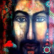 Christ-5_36x39_inches__tempra_on_handmade_paper__-08_card