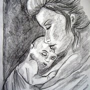 Mother-and-child_card