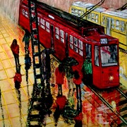 Tram_the_product_of_my_coloured_dream_card