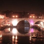 An_evening_in_tevere_island_card