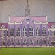 Fenton_town_hall_with_spire_card