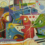 The_residential__city_1_100x120cm_oil_on_canvas_1994_card