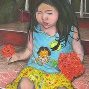 Antonio_cayanan-girl_with_flower_2010_18x24_inches_oil_on_canvas_card