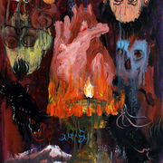 __zhou_tao_____god_s_flame_______acrylic_on_canvas_56x36cm_2010_card