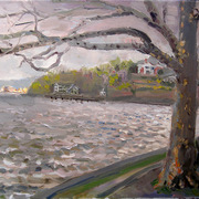 Nyack_park__rain_and_sun__18x24_card