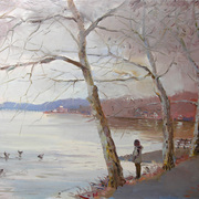 Nyack_park__the_aprich_of_the_storm__24x30_card