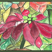 2nd_poinsetiia_clearer_001_with_green_border_card