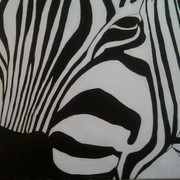 Zebra_painting_card