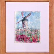The_blooming_windmill_card