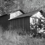 Angled_tin_house_in_black_and_white_card