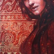 Oksana_zhelisko_secret_mixed_media_12__x24___card