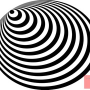 Op_art_bullseye_excentric_black_white_card