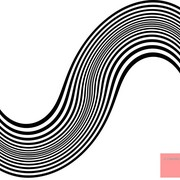 Op_art_homage_br_double_curves_black_and_white_card