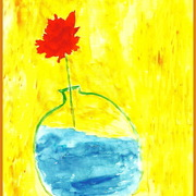 Single_flower_in_vase_painted_in_florida_2007_001_border___crop_card