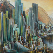 City_in_the_mountains_card