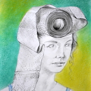 Folk_cotume-head-binding__42x30cm_card