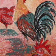 Hens_and_rooster_card