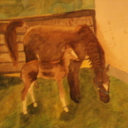 Horseart_card