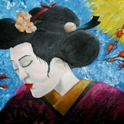 Eternal_geisha__18x24_acrylic_on_canvas__card