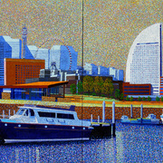 Yokohama_130x91cm_oil_on_canvas