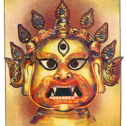 Mask_of_nepal__akash_bhairab__card