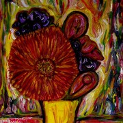 Bouquet_in_a_yellow_vase_card
