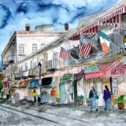 Savannah_river_street_painting_small_card
