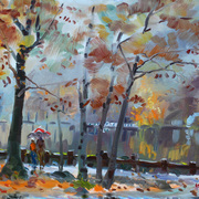 Foggy_rain_by_the_lake_card