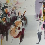 Jazz_50x40_2010_watercolor_card