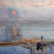 2008_sergheyevka_watercol-04_sunrise__3