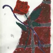 Winterrose_painting_card