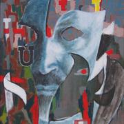 Autoritratto_maschera__60x50_acrilico_su_tela_2011_card