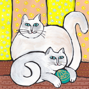 Two_white_cats_card